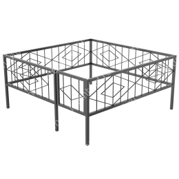 Сварная ограда ОС-009 200х180 см.