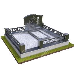 """Мемориальный комплекс Ц - 018 """"Под ключ"""" 200х180 см"""