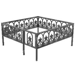 Ограда кованная ОК-14 200х180 см