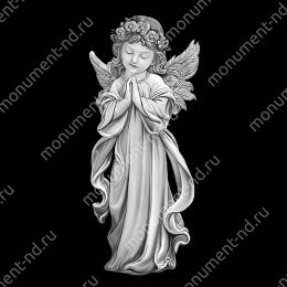 Гравировка ангела А-021 от 25х25 см