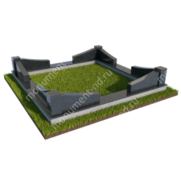 Гранитный цоколь ГРЦ - 010 гранит