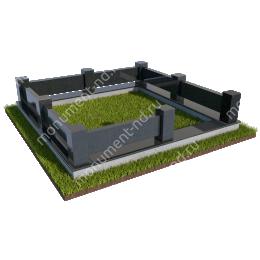 Гранитный цоколь ГРЦ - 011 гранит