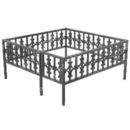 Ограда сварная ОС - 005 200х180 см.