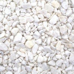 Мраморная крошка на могилу 50 кг.  цвет белый фракция 1-2 см.