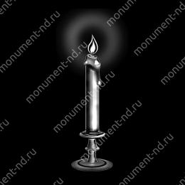Гравировка свечи С-027 ≤ 34х22 см