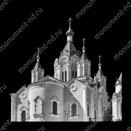 Гравировка храмы Х-014 ≤ 50х50 см