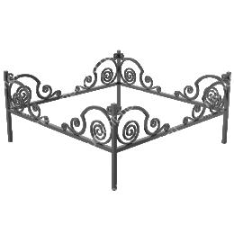 Ограда кованная ОК-30 200х180 см