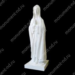Ангел на памятник А-046 полимергранит цвет белый/бронза 115 см.