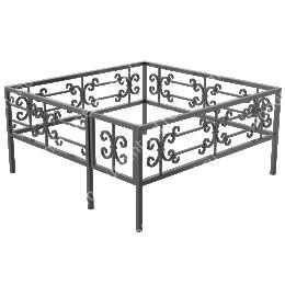 Ограда кованная ОК -18 200х180 см