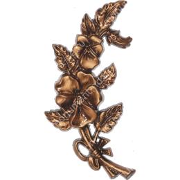 Декор для памятника-05 полимергранит цвет бронза/серебро