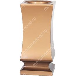 Ваза из полимергранита-007_1 28 см