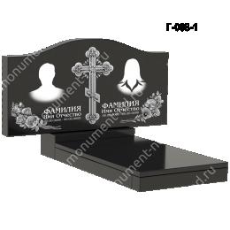 Надгробная плита - 008 гранит 40*80*5