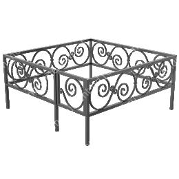 Ограда кованная ОК-12 200х180 см