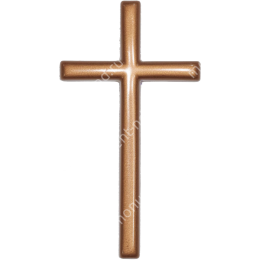 Декор для памятника-019 полимергранит цвет бронза/серебро 15х8 см