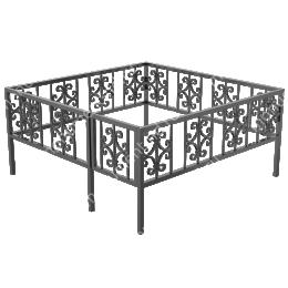 Ограда кованная ОK-36 200х180 см