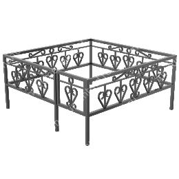 Ограда кованная ОК-22 200х180 см