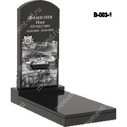 Надгробная плита - 003 гранит 80*40*5