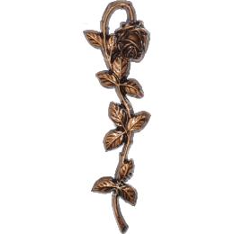 Декор для памятника-024 полимергранит цвет бронза/серебро 29х9 см