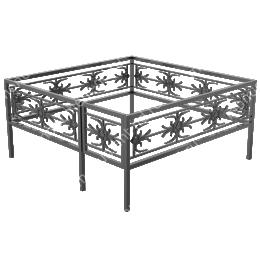 Ограда кованная ОК-26 200х180 см