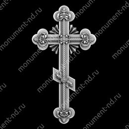 Гравировка Крестика К-039