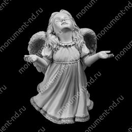 Гравировка ангела А-022 от 25х25 см
