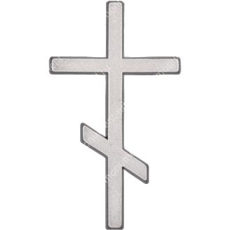 Декор для памятника-015 полимергранит цвет бронза/серебро 12х7 см 2
