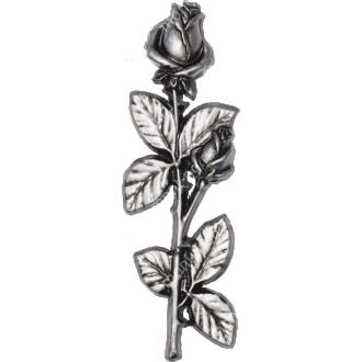 Декор для памятника-022 полимергранит цвет бронза/серебро 27.5х9 см 2
