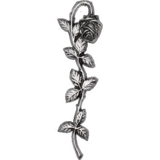 Декор для памятника-024 полимергранит цвет бронза/серебро 29х9 см 2