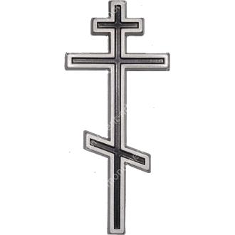 Декор для памятника-09 полимергранит цвет бронза/серебро 20х8,5 см 2