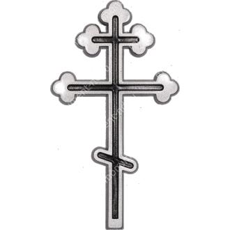 Декор для памятника-012 полимергранит цвет бронза/серебро 12х7 см 2