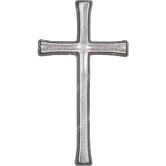 Декор для памятника-017 полимергранит цвет бронза/серебро 12х6,5 см 2