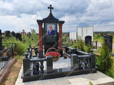 """Мемориальный комплекс НР - 124 """"Под ключ"""" 200х180 см 2"""