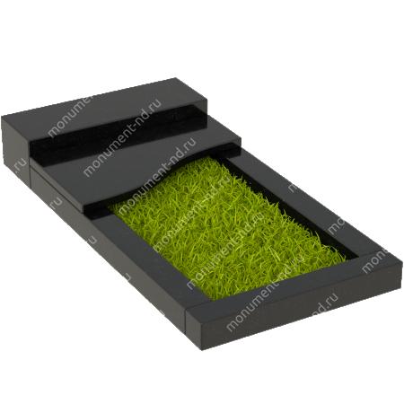 Накладная плита на цветник Цвт-005 2