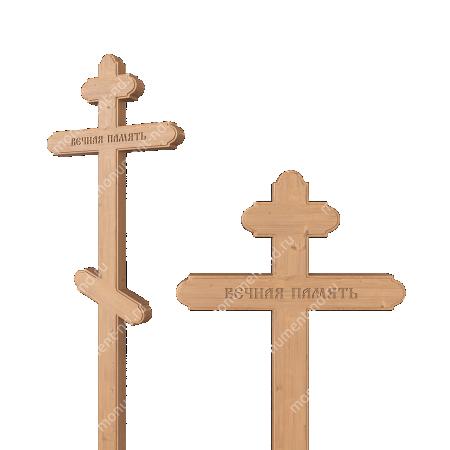Деревянный крест на могилу ДкС - 008 2