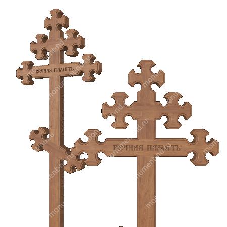 Деревянный крест на могилу ДкД - 010 2