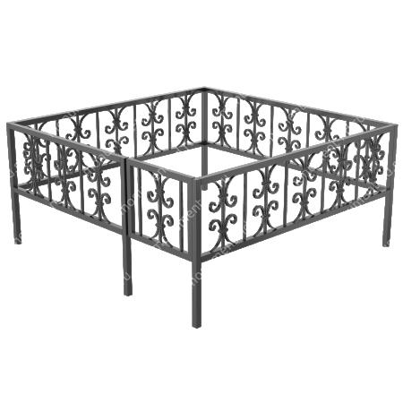 Ограда кованная ОК-33 1