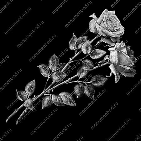 Гравировка цветы Цв-052