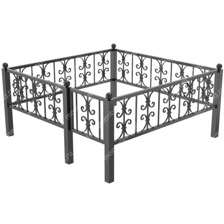 Ограда кованная ОК-33 2