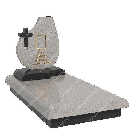 Памятник из цветного гранита - 025 3