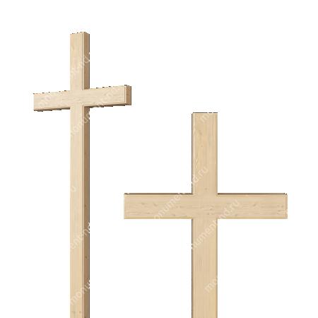 Деревянный крест на могилу ДкС - 003 1