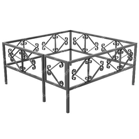 Ограда сварная ОС - 015 1