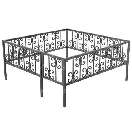 Ограда кованная ОK-40 1