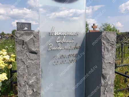 """Мемориальный комплекс НР - 133 """"Под ключ"""" 200х180 см 4"""