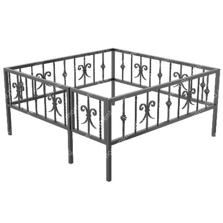 Ограда кованная ОК-10 1