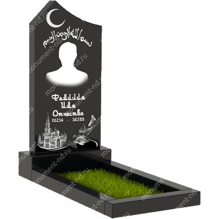 Мусульманский памятник М - 004 1