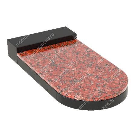 Накладная плита на цветник Цвт-034  4