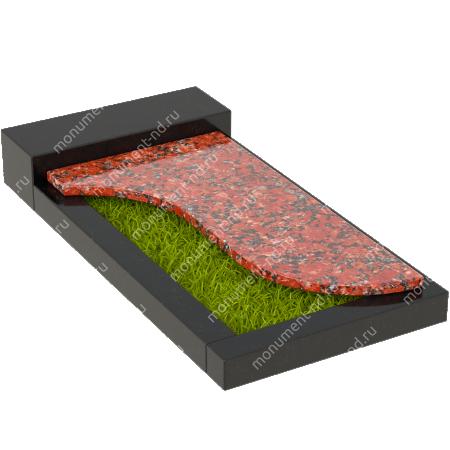Накладная плита на цветник Цвт-016  4