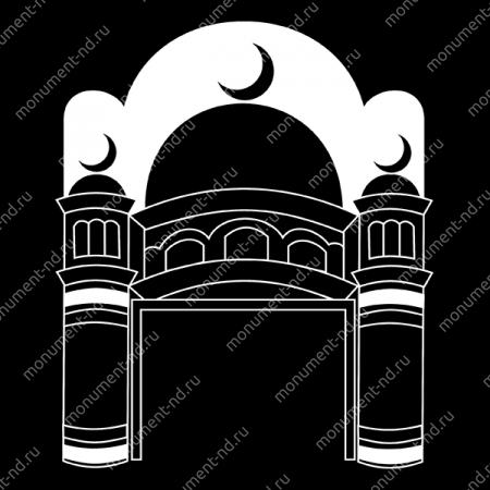 Гравировка Ислам Ис - 026