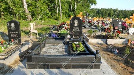 """Мемориальный комплекс НР - 027 """"Под ключ"""" 200х180 см"""