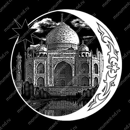 Гравировка Ислам Ис - 008